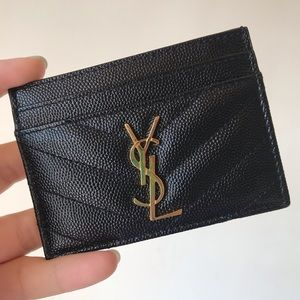 Authentic Saint Laurent Cardholder